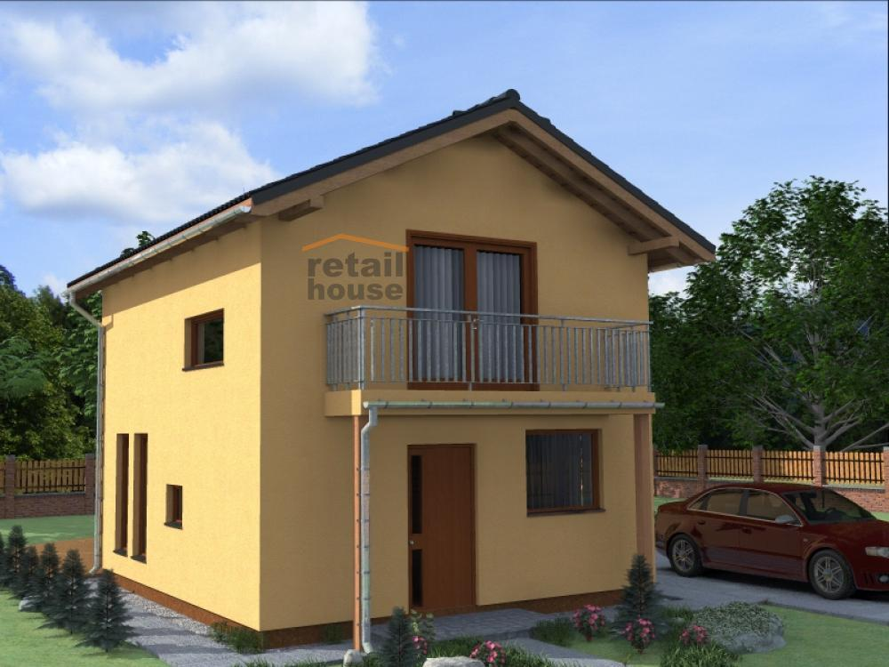 Rodinný dům na klíč Retail Magic Plus XL od Retail House